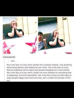 Makes me want to cry of joy! <3 We love you boys.