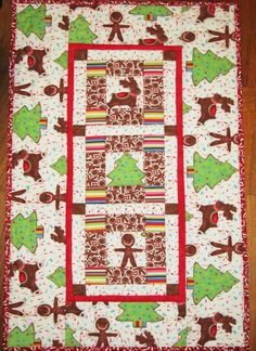 """"""" Gingerbreaed Town """"   available at   moandmacsfabricshack.com"""