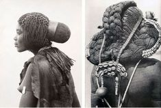 The hairstyle currently making you do a double-take is known as Eembuvi Braids, worn by women of the Mbalantu tribes from the Namibia. It's a style that requires preparation from a young age, usually around twelve years old, when Mbalantu girls use thick layers of finely ground tree bark and oils– a mixture that is said to be the secret to growing their hair to such lengths.
