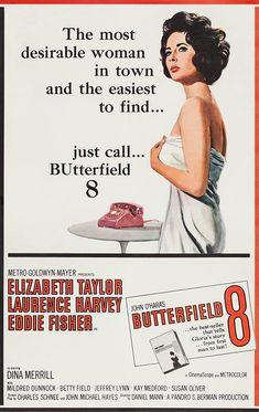 BUtterfield 8 (1960) Avengers 2012, Bruce Banner, Elizabeth Taylor, X Men, Dina Merrill, Betty Field, Sunday Night Movie, Susan Oliver, Michael Hayes