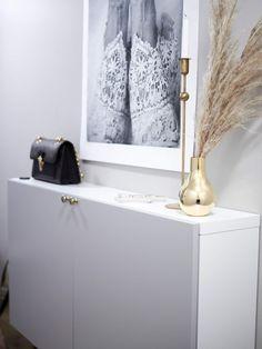 Eteisen uusi ilme   Inspired by love Entrance, Ikea, Bathtub, Bathroom, Home, Standing Bath, Washroom, Entryway, Bathtubs
