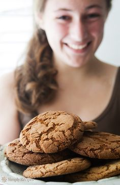 Giant Ginger Cookies ~ Extra large ginger cookies, with ground ginger, cinnamon, cloves, and molasses. ~ SimplyRecipes.com