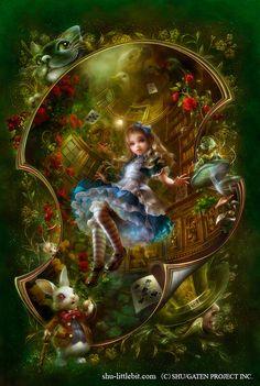 magnifique tableau d'Alice