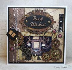 Lenas kort: Best wises
