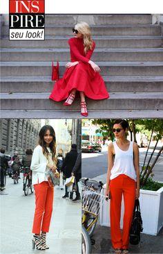 Acenda seu look com vermelho!