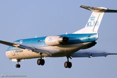 10 KLM Cityhopper Fokker F70 PH-WXC