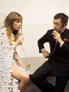 Jane Birkin and Serge Gainsbourg. @thecoveteur