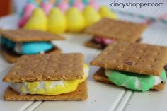 Peeps Smores for Easter