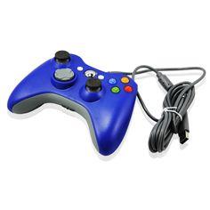 Handkontroll till Xbox 360 Blå