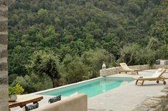 Luxury villa rent Corfu | SJ Villas | Large luxury one bedroom villa with pool, sea views, near the Rou Estate, North East Corfu
