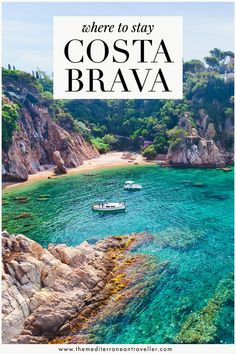 Costa Brava Guide. Heading to the Costa Brava this year for some summer sun? Here's a guide to the region's beach resorts, including where to find the best sandy beaches, beachfront hotels, nightlife, and the prettiest parts of the coast. #costabrava #spain #catalonia #catalunya #europe #beach #vacation #mediterranean #tmtb Top Travel Destinations, Europe Travel Guide, Spain Travel, Travel Guides, Travel Tips, European Travel, Beach Resorts, Where To Go, Night Life