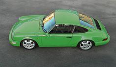 Green 964 - Porsche 911