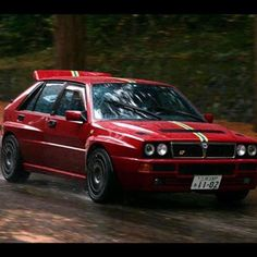 Reposted with photo by Subaru Rally, Rally Car, Hatchback Cars, Lancia Delta, Top Cars, Modified Cars, Amazing Cars, Car Pictures, Sport Cars