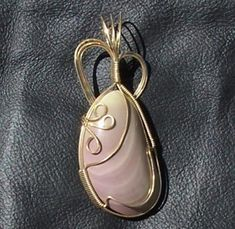 Imperial Jasper Pendant  Handcrafted Wire by JewelryArtistry, $53.00