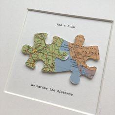 Diy Birthday, Birthday Gifts, Ldr Gifts, Long Distance Relationship Gifts, Idee Diy, Custom Map, Map Art, Boyfriend Gifts, Presents