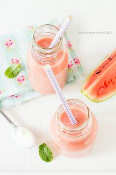 BABS (R)EVOLUTION: Smoothie all'anguria [con yogurt Fattorie Scaldaso...