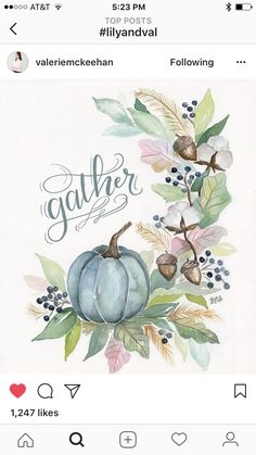 Watercolor drawing by Valerie McKeenan aka Lily and Val