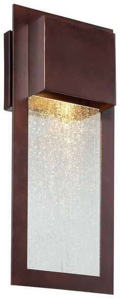 The Great Outdoors Dark Sky Compliant Outdoor Wall Sconce from the Westgate Collection