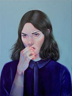 Figurative painting by Martine Johanna | iGNANT.de