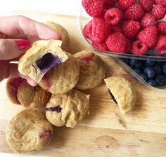 Well-Fitness - Der Foodblog: Vanilla-Berry-Muffins