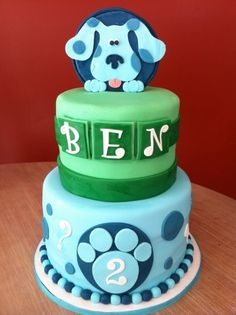 Blues Clues birthday By cakechickdani on CakeCentral.com