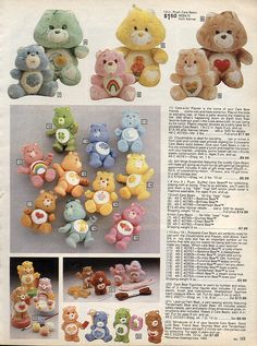 Care Bears, 1983-xx-xx Sears Christmas Catalog P169 by Wishbook, via Flickr