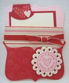 Stampin' Up! Top Note Valentine
