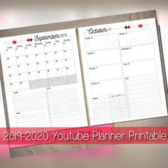 Planner Ideas, Planner Pages, Life Planner, Printable Planner, Printables, Organization Bullet Journal, Business Planner, Calendar Pages, Cover Pages