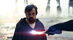 Luke Skywalker and Kylo Ren TLJ #starwars