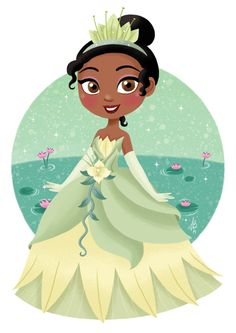 tiana_by_inehime-d8d7x3w.png 526×744 pixeles