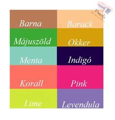 Akril festés. Élményfestés Indigo, Lime, Mint, Limes, Indigo Dye, Key Lime