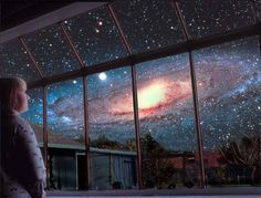 Our night sky in 2 billion years...