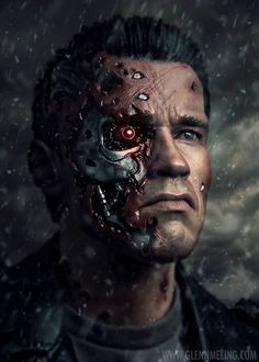 Under the Radar: Terminator: The Sarah Connor Chronicles — Strange Harbors T 800 Terminator, Terminator Movies, Skynet Terminator, Terminator Tattoo, Science Fiction, Fiction Movies, Arte Digital Fantasy, Sci Fi Fantasy, The Sarah Connor Chronicles