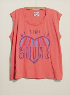 Junk Food Clothing - Kids Girls My Time to Shine Jetsetter Tee  $32  www.junkfoodclothing.com