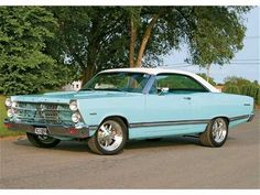 1967 Ford Fairlane soft top