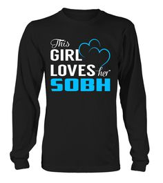 This Girl Love Her SOBH Last Name T-Shirt #Sobh