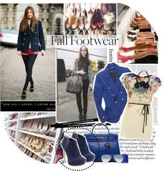 """Fall Footwears"" by candy-sugar123 ❤ liked on Polyvore"