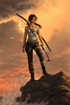 Born Survivor by *YannickBouchard Book character. Rowan