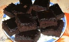 Csupa csoki süti (brownie) recept fotóval