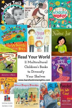 In honor of Multicultural Children's Book Day, here's a list of 11 of my favorite diverse books, plus a giveaway!
