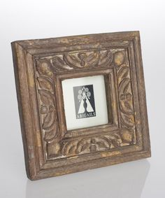 Provence Wood Square Frame - 2.5 X 2.5 - Photo Frames