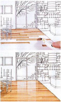 Marker rendering interior design best pen for architects drawing Croquis Architecture, Interior Architecture Drawing, Drawing Interior, Interior Sketch, Architecture Design, Landscape Architecture, Classical Architecture, Site Development Plan Architecture, Architecture Concept Drawings