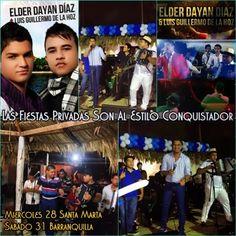 @ElderDiaz01 y @LGDeLaHoz , Las Fiestas Privadas Son Al Estilo Conquistador - http://wp.me/p2sUeV-3VK  - Noticias #Vallenato !