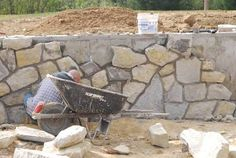 Image result for beautiful sandstone retaining wall