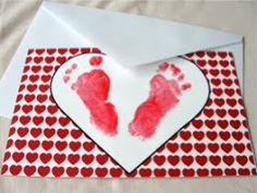 The Pursuit of Happiness: Footprint Valentines