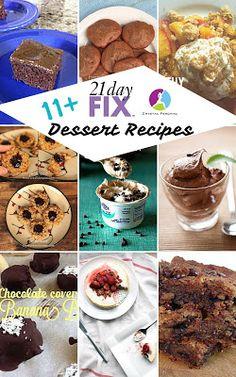 11 21 Day Fix Dessert Recipes