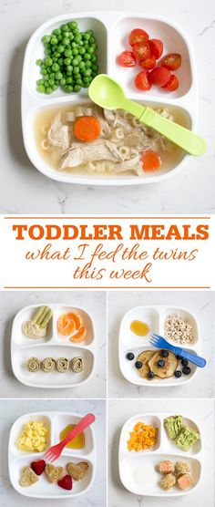 15 themed dinner ideas my favorite way to meal plan healthy toddler meals what i fed my twins this week healthy breakfast lunch and forumfinder Images