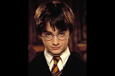 Daniel Radcliffe in Harry Potter and the Philosopher's Stone, 2001. i just cant get over how cute he was as a little kid!