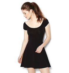 Garage black cross back dress. Great everyday dress to throw on. This dress may smell like lush products. Garage Clothing, Fashion Outfits, Womens Fashion, Fashion Tips, Dress Images, Everyday Dresses, Dress Picture, Unique Dresses, Dress First