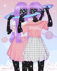 Saccstry, Space girls :D